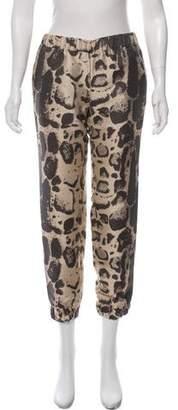 Giambattista Valli Printed Mid-Rise Pants
