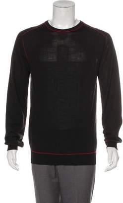 Pierre Balmain Wool Crew Neck Sweater