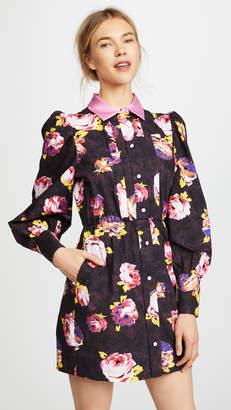 MSGM Balloon Sleeve Shirtdress