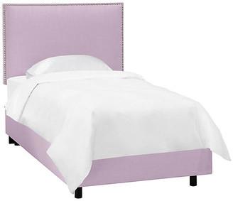 One Kings Lane Loren Kids' Bed - Lilac Linen