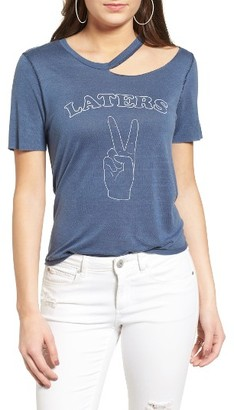 Women's Pst By Project Social T Laters Ripped Tee $35 thestylecure.com