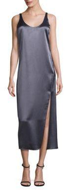 Diane von Furstenberg Lyla Midi Slip Dress $328 thestylecure.com