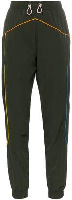 Mira Mikati multicoloured piping track pants