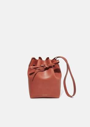Mansur Gavriel Mini Bucket Bag Brandy/Brick