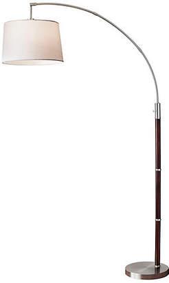 One Kings Lane Alta Arc Lamp - Brushed Steel