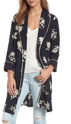 Women's Treasure & Bond Print Kimono $89 thestylecure.com
