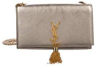 Saint Laurent Metallic Leather Kate Shoulder Bag
