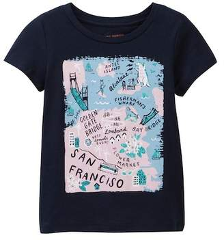 Joe Fresh Print Tee (Toddler & Little Girls)