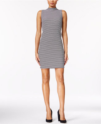 kensie Ribbed Striped Dress $69 thestylecure.com