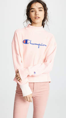 Champion Premium Reverse Weave High Neck Sweatshirt
