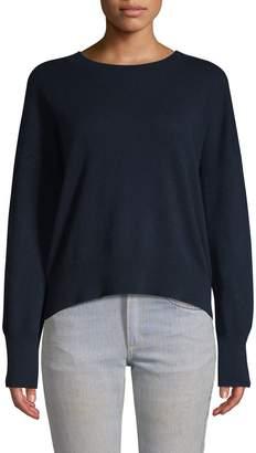 360 Cashmere Skull-Back Cashmere Sweater
