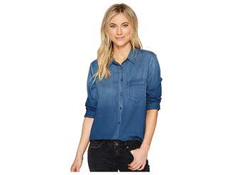 AG Adriano Goldschmied Nola w/ Pocket Button-Up Top Women's Clothing