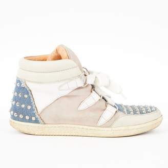 Sandro Multicolour Leather Trainers