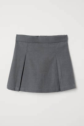H&M Pleated Skirt - Gray