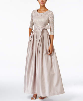Jessica Howard Lace A-Line Gown $139 thestylecure.com