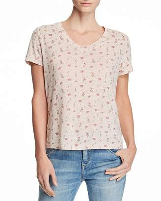Honey Punch Floral Print Tee