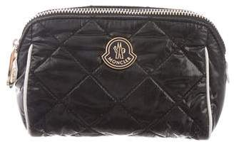 Moncler Quilted Nylon Cosmetic Bag