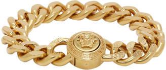 Versace Gold Chunky Chain Medusa Bracelet