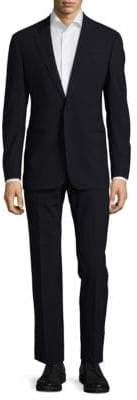Armani Collezioni Buttoned Cuffs Suit