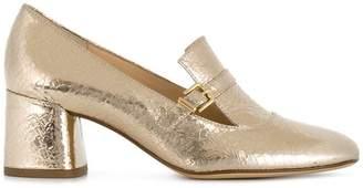 Högl metallic heeled pumps
