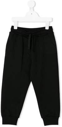 Dolce & Gabbana patch detailed track pants