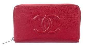 Chanel Caviar Timeless Organizer Wallet