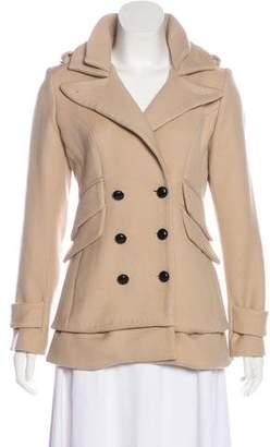 Smythe Wool Double-Breasted Coat