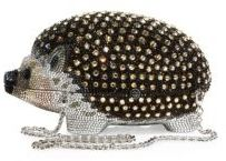 Judith Leiber Hedgehog Crystal Box Bag $4,995 thestylecure.com