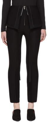 Wendelborn Black Parachute Trousers