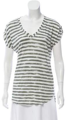 Splendid Striped Short Sleeve Top