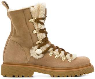 Moncler combat boots