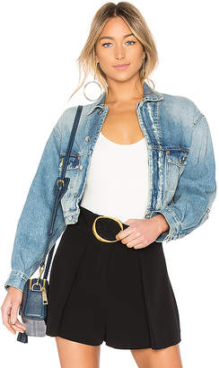 Iro . Jeans Duere Jacket.
