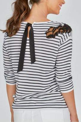 Elliott Lauren Tie Back Top