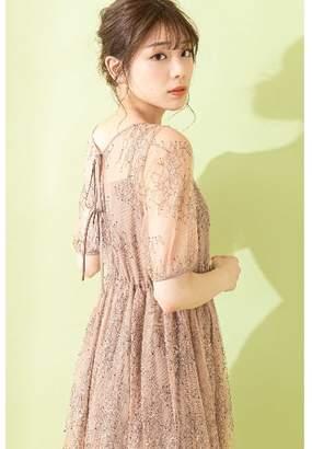 Jill Stuart (ジル スチュアート) - ジルバイジルスチュアート |Sweet 8月号掲載|チュールレースドレス
