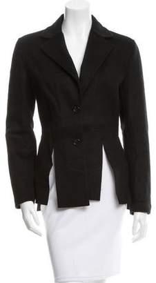 Yang Li Slit-Accented Wool Jacket w/ Tags