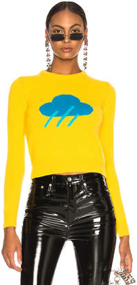 Alberta Ferretti Raincloud Crewneck Sweater