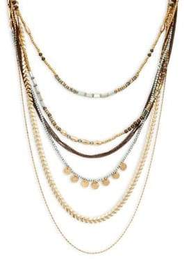 Design Lab Six-Strand Layered Necklace