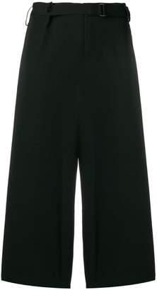 Yohji Yamamoto oversized cropped trousers