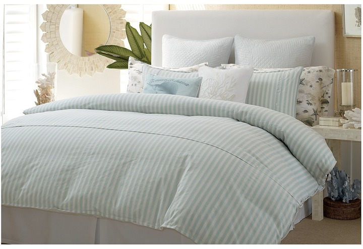 Tommy Bahama Surfside Stripe Comforter Set - California King (Multi) - Home