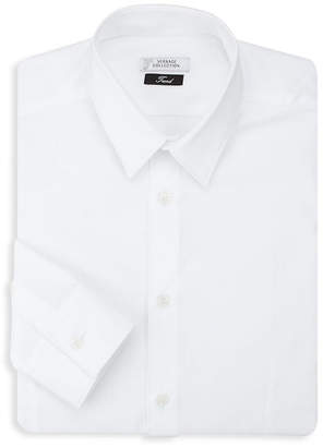 Versace Button-Front Dress Shirt