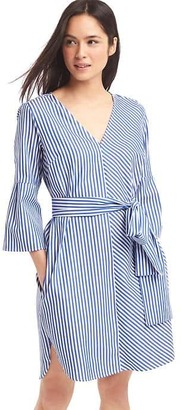 Stripe front-tie dress $69.95 thestylecure.com
