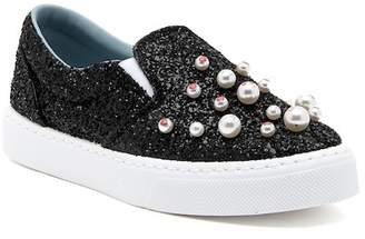 Chiara Ferragni Glitter Slip-On Sneaker