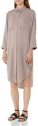 REISS Zoe Shirt Dress $330 thestylecure.com