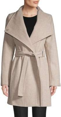 Calvin Klein Classic Self-Tie Coat