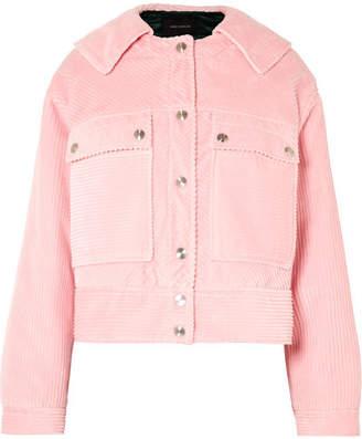 Cédric Charlier Cotton-corduroy Jacket - Pink
