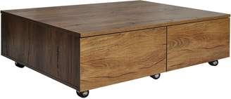 Isabella Collection Citron Life Coffee Tables Oak Rectangle Coffee Table