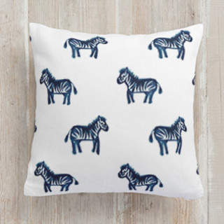 Lil Zebras. Square Pillow