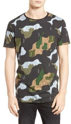 Scotch & Soda Camo Print T-Shirt
