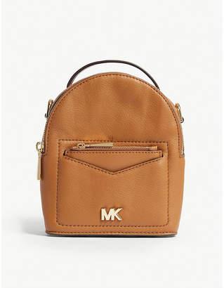 MICHAEL Michael Kors Michael Kors Green Jessa Leather Cross Body Backpack