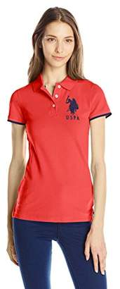 U.S. Polo Assn. U.S. Polo Shirt Assn. Juniors' Contrast Patch Polo Shirt